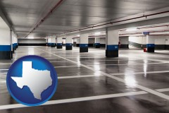 texas an empty parking garage